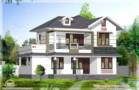 Sq Ft Double Storied Modern Home Design The Best Home Design - Kerala interior design photos house