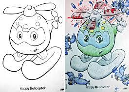 funny children coloring book corruptions 26