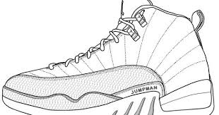 Small Picture air jordan 12 coloring pages