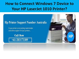 The drivers for your printer can be obtained via microsoft update, follow these steps to ensure you use the latest. How To Connect Windows 7 Device To Your Hp Laserjet 1010 Printer