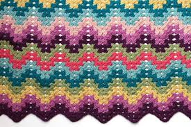 Ripple Afghan Patterns Adorable Crochet For Knitters Granny Ripple Blanket V E R Y P I N K