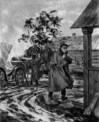И А Бунин Темные аллеи Подготовка к ЕГЭ ОГЭ по русскому  В холодное осеннее ненастье на одной из больших тульских дорог залитой дождями и изрезанной многими черными колеями к длинной избе в одной связи которой