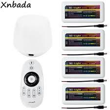 Mi Light Fut036 Us 6 68 14 Off Milight Fut036 Cw Ww Led Brightness Adjust Dimmer Controller Receiver Dc12 24v Wifi Ibox1 Controlled By App Fut007 Remote In Rgb