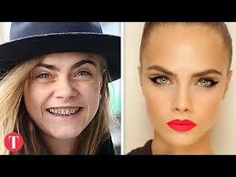 03 57 10 shocking photos of supermodels without makeup