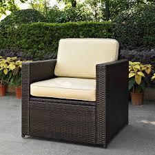 Crosley Furniture Palm Harbor Outdoor Wicker Chair  WalmartcomPalm Harbor Outdoor Furniture