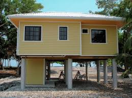 Small Beach House Plans On Pilings  HomecaHouse Plans On Stilts