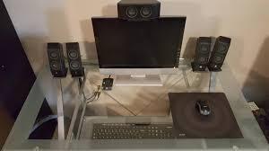 best solutions of desk cable management for glass desk bles managed al on imgur