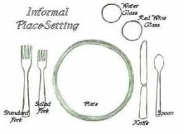 Types Of Table Setting Fascinating 25 Best Table Settings Images On  Pinterest Home Tables And .