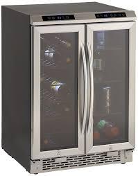 Undercounter Drink Refrigerator Amazoncom Avanti Wbv19dz Side By Side Dual Zone Wine Beverage
