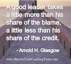 Motivational Leadership Quotes Adorable Inspirational Quotes Leadership Arnold H Glasgow Arnold G Flickr