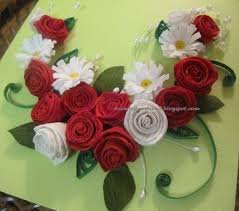 Paper Quilling Rose Flower Basket Caton189s Favorite Flickr Photos Picssr