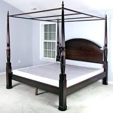King Bed Canopy Wood King Size Canopy Bed – laquintarevelacion.co