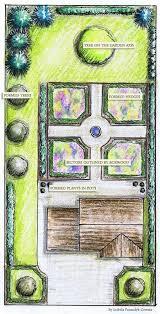 garden planning tool. French Formal #Garden | #garden Plan - GardenPuzzle Online Garden Planning Tool D