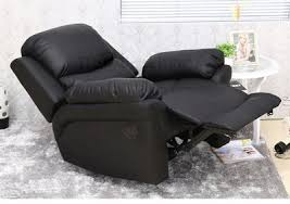 electric leather recliner sofa reviews. electric reclining chair with back support in black finish leather recliner sofa reviews s