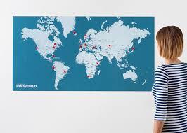 Pins World Map World Maps