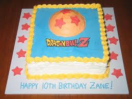 Dragon Ball Z Decorations Dragon Ball Z Childrens Cakes LIVIROOM Decors Dragon Ball Z 67