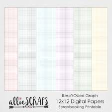 Rescyoued Graph Papers