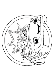 Team Umizoomi Coloring Page Team Coloring Pages Team Umizoomi Color