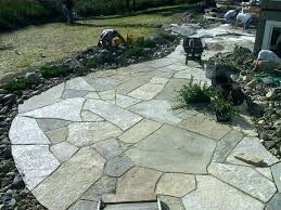 installing flagstone patio over concrete cost to install flagstone over concrete patio image ideas