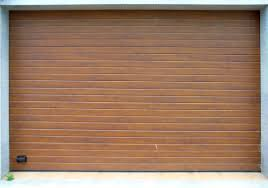 wood garage door texture