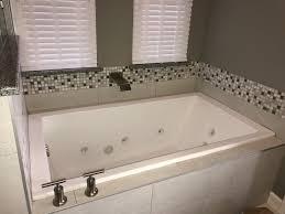 OakLawnCondoBathroomRemodelDuringRenovationBathTubwith - Condo bathroom remodel