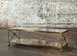 brass glass coffee table for remarkable decor of brass glass coffee