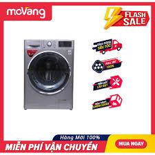 Mã ELHAXU11 hoàn tối đa 1 triệu xu] (HCM) Máy giặt sấy LG Inverter 9kg  FC1409D4E
