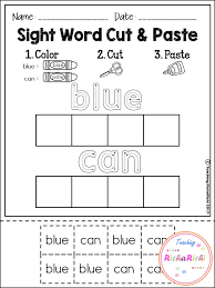 Sight Word for pre-primer make sure checkout my other products for ...