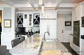 the best gray paint colour to go with marble is benjamin moore stonington gray shown
