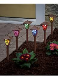 color changing pathway lights