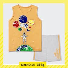 Thời trang quần áo trẻ em bé trai set Bộ thun 3 lỗ bé trai Oshkosh cho bé  từ 3 4 5 6 7 8 9 10 11 12 13 14 tuổi giảm chỉ còn 105,000 đ