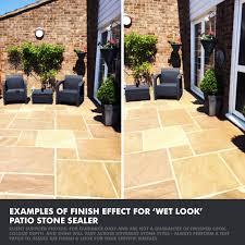 wet look patio sealer best on stone