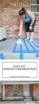 this is an easy way to do a porch makeover painting concrete is a fast