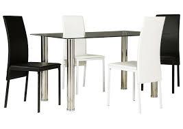 American Furniture Galleries Sariden Chrome Finish Rectangular Table