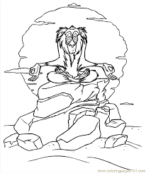 Small Picture Lion King Coloring Page 08 Coloring Page Free The Lion King