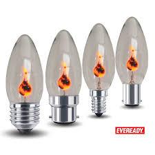 Details Zu Eveready 3w Flicker Flamme Kerze Glühbirne Halloween Lampe E14 E27 B22 B15 240v