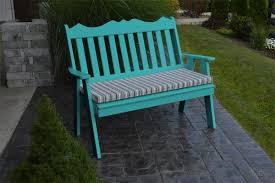 english garden bench. Fine English Amish Poly Royal English Garden Bench On U