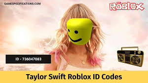 Players can play these song ids in the game with the help of the boombox player item. Taylor Swift Roblox Id Codes To Play Pop Songs 2021 Game Specifications
