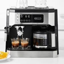 So, when you choose to settle for a hybrid machine, you also need to expand. Delonghi All In One Combination Coffee Maker Williams Sonoma