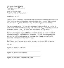Sample Agreement To Pay Debt Sample Agreement Letter To Pay Debt Mamiihondenk Org