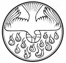 Small Picture Holy Spirit Pentecost Catholic Coloring Page Catholic Coloring
