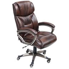 office chair genuine leather white. Desk Chairs High Back Executive Office Chair Leather White Santana Brown Perfect On Small Home Decor Genuine