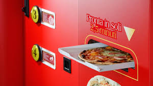 How To Make Money Come Out Of A Vending Machine Delectable This Vending Machine Will Make You A Fresh Pizza From Scratch