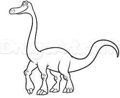 Arlo Good Dinosaur Kleurplaat How To Draw Arlo From The Good