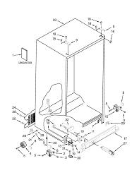 Whirlpool model wrs325fdam02 side by side refrigerator genuine parts rh searspartsdirect