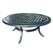 patio coffee table round outdoor furniture plans