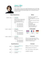 Sample Curriculum Vitae Template