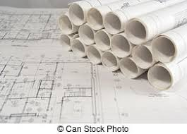 architectural engineering blueprints. Interesting Architectural Engineering And Architectural Drawings  Rolls Of On Architectural Blueprints