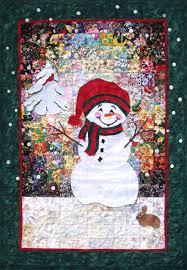 "Let It Snowman"" Watercolor Quilt Kit   Whims   Quilting ... & Whims Watercolor Quilt Kits Let it Snowman Quilting Supplies Adamdwight.com"