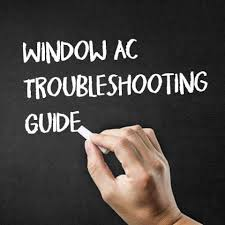 Window Air Conditioner Troubleshooting Guide Problems And